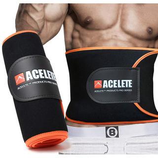 ACEFITS シェイプアップベルト 加圧 発汗ダイエットベルト フリーサイズ (トレーニング用品)