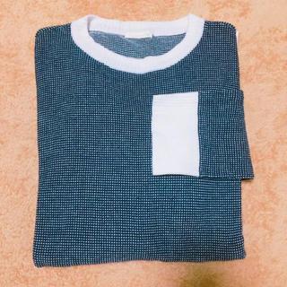 ジーユー(GU)のメンズ トップス(Tシャツ/カットソー(七分/長袖))