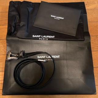 サンローラン(Saint Laurent)のsaint laurent paris ウエスタンベルト スター ベルト(ベルト)