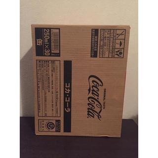コカコーラ(コカ・コーラ)のコカ・コーラ 250ml ×30本 1ケース  缶 新品未開封品(ソフトドリンク)