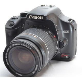 キヤノン(Canon)のキヤノンKiss X2 大人気の一眼レフ(デジタル一眼)