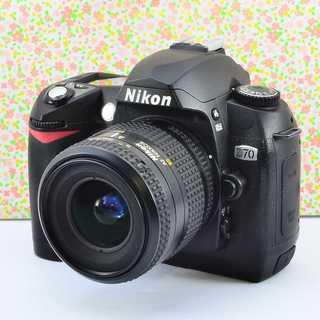 ✨入門機の可愛い本格派✨ニコン D70 レンズセット(デジタル一眼)