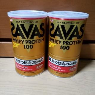 ザバス(SAVAS)のSAVAS プロテイン 2缶セット(プロテイン)