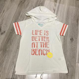 ロキシー(Roxy)の美品 ROXY フード付き Tシャツ スポーツウェア M(ウェア)