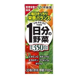 伊藤園 1日分の野菜 (紙パック) 200ml×24本(食品)