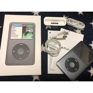 アップル(Apple)のジャンク iPod classic 120GB black(ポータブルプレーヤー)