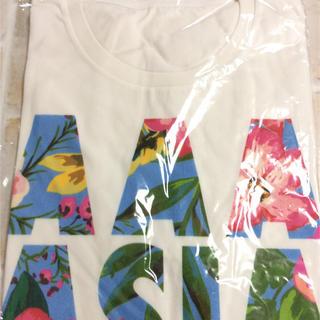 トリプルエー(AAA)の新品 AAA  アジア  Tシャツ  ライブ  白  Mサイズ(ミュージシャン)