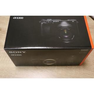 SONY - 最安!新品 SONY α6300 ボディ ミラーレス一眼カメラ
