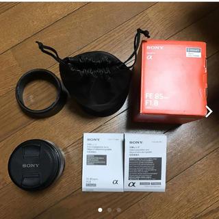 SONY - sony 85mm f1.8 レンズ