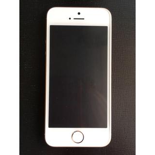 アイフォーン(iPhone)のiPhone SE Gold 16 GB SIMフリー(スマートフォン本体)