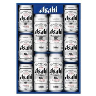 アサヒ(アサヒ)のアサヒスーパードライ 缶350ml6本と500ml4本(ビール)