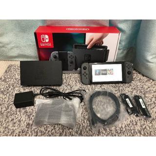 Nintendo Switch - [美品]ニンテンドースイッチ 本体 グレー NintendoSwitch