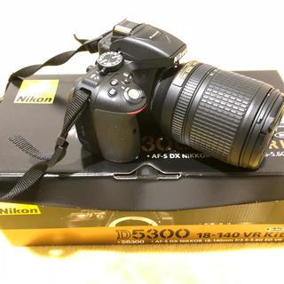 ニコン(Nikon)のNikon ニコン D5300 + 18-140 kit(デジタル一眼)
