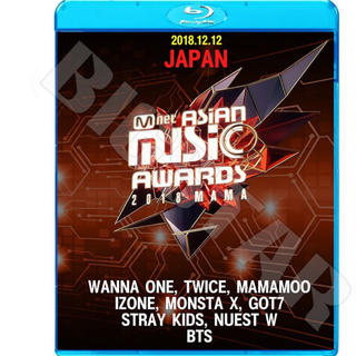 防弾少年団(BTS) - 2018 MAMA in JAPAN/2018.12.12 Blu-ray