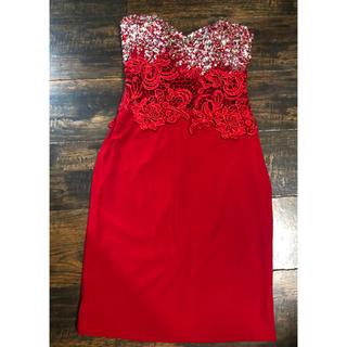 エンジェルアール(AngelR)のangelr 赤ドレス(ミニドレス)