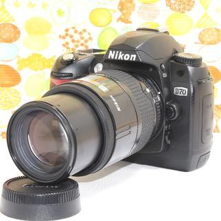 ニコン(Nikon)の⭐️入門機の可愛い本格派✨ニコン D70 レンズセット⭐️(デジタル一眼)