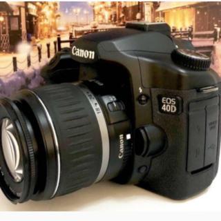 キヤノン(Canon)のCanon EOS 40D レンズキット(デジタル一眼)
