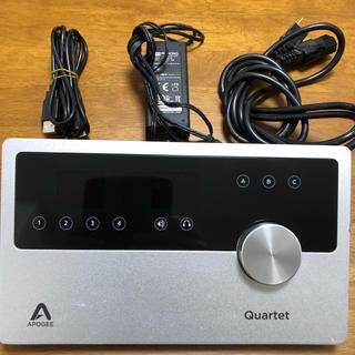 apogee quartet オーディオインターフェース
