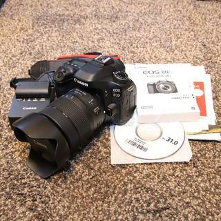 キヤノン(Canon)の【キャノン】 EOS 80D EF-S18-135 IS USM レンズキット(デジタル一眼)