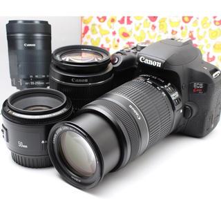 キヤノン(Canon)の❤️キャノン Canon EOS kiss x9i ❤️トリプルレンズセット❤️(デジタル一眼)