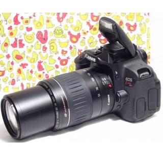 キヤノン(Canon)の❤️Wi-Fi機能つき❤️EOS Kiss X6i 望遠レンズキット♫(デジタル一眼)