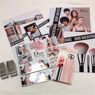 ディオール(Dior)のdior backstage サンプル パンフレット セット(その他)