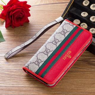 グッチ(Gucci)のGUCCI グッチiPhone XとXSケース 財布 手帳型 カバー(iPhoneケース)