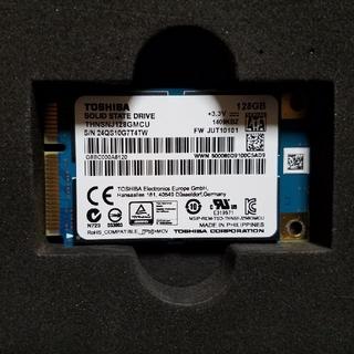 東芝 - TOSHIBA mSATA SSD 128GB 動作確認済み 中古