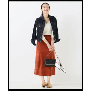 イエナスローブ(IENA SLOBE)の【新品】SLOBE IENA ベロアタイトスカート(ロングスカート)