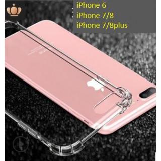 iPhone7/8用 薄い 軽い TPU素材 耐衝撃 iPhoneケース(iPhoneケース)