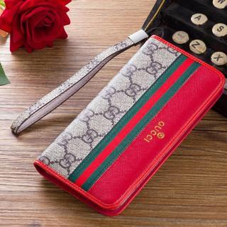 グッチ(Gucci)のGUCCI グッチiPhone 7Pluと8Plusケース 財布 手帳型 カバー(iPhoneケース)
