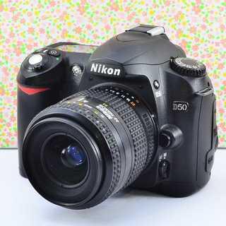 ✨入門機の可愛い本格派✨ニコン D50 レンズセット(デジタル一眼)