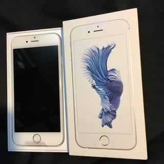 エヌティティドコモ(NTTdocomo)の新品 iPhone6s 64g docomo シルバー SIMフリー(スマートフォン本体)