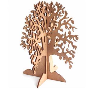 シボネ(CIBONE)の組み立て式 木製アクセサリーツリー/クリスマスツリー(小物入れ)