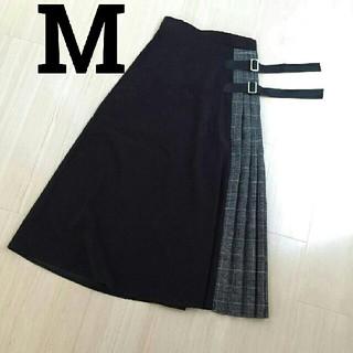 シマムラ(しまむら)のMURUA 風 切り替えスカート しまむらアベイルZARAGULilyBrown(ロングスカート)