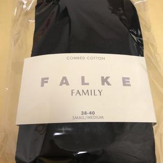 イエナ(IENA)の送料無料新品ファルケfalke 綿94 コットンタイツ黒38-40(タイツ/ストッキング)