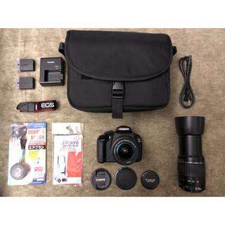 キヤノン(Canon)の1年保証 Canon EOS kiss 1200 kiss X70 純正Wズーム(デジタル一眼)
