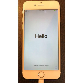 Apple - iPhone 6s Gold 64 GB au