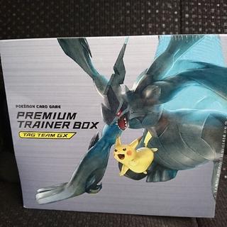 ポケモン(ポケモン)のポケモンカード プレミアムトレーナーBOX TAGTEAM GX ポケセン限定有(Box/デッキ/パック)