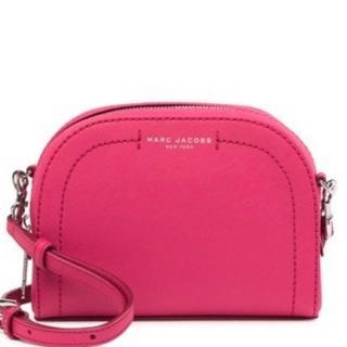 マークジェイコブス(MARC JACOBS)のMARC JACOBS Leather bag ショルダーバッグ pink(ショルダーバッグ)