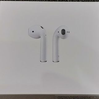 Apple - 未開封新品 Apple AirPods MMEF2J/A 完全ワイヤレスイヤホン