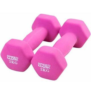 ダンベル 2kg 2個セット(トレーニング用品)