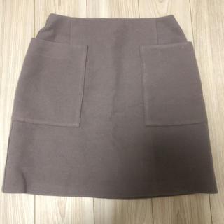 イエナスローブ(IENA SLOBE)のスローブイエナ 台形ウールスカート(ひざ丈スカート)