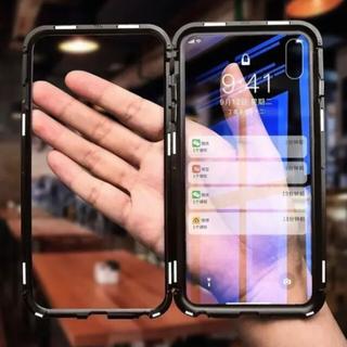 【限定】 新作 スカイケース iphone 強化ガラス アルミニウム(iPhoneケース)