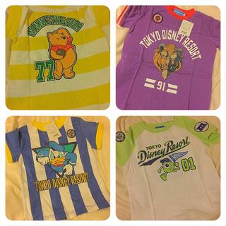 ディズニー(Disney)のクリスマスまで🎅❤️120cm 半袖セット(Tシャツ/カットソー)