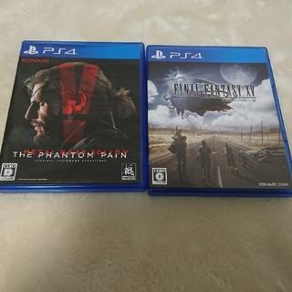 PlayStation4 - PS4 メタルギア5 ファイナルファンタジー15