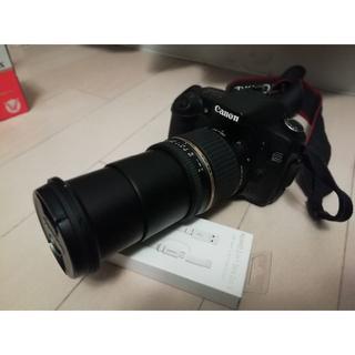 キヤノン(Canon)のCanon デジタル一眼レフ EOS30Dボディ Tamron高倍率ズームレンズ(デジタル一眼)