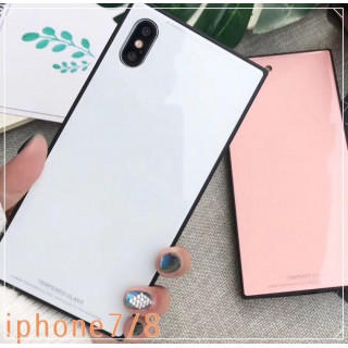 【新品未使用♪】 アイフォンケース Iphone  シンプル ホワイト(iPhoneケース)
