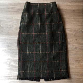 シマムラ(しまむら)の新品 タグ付き スカート(ひざ丈スカート)