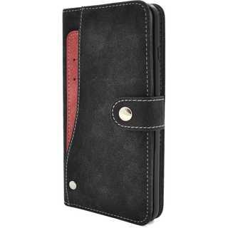 iPhoneケース手帳型 カードケース ブラック(iPhoneケース)